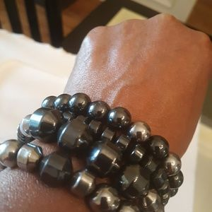Unisex Semi-Precious Stone Bracelets